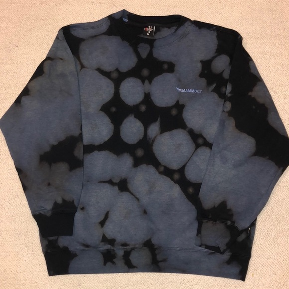 Mammoet Custom tie dyed crew neck sweater M